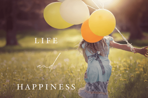 Life and happiness - Nikki Young