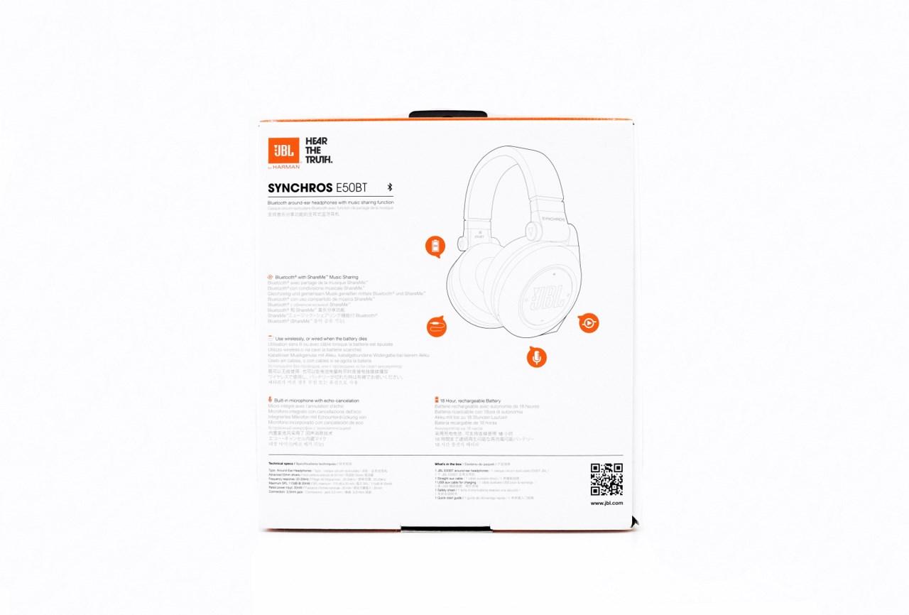 Jbl Synchros E50 Bt Bluetooth Around Ear Headphones Review