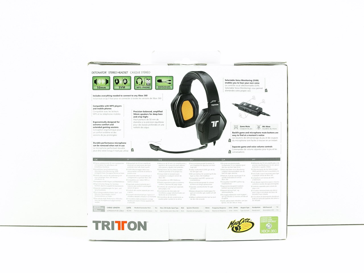 Tritton Xbox 360 Detonator Stereo Headset Review