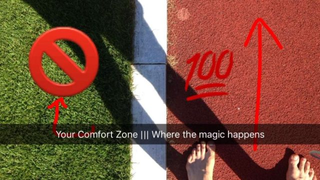 Crush your comfort zone!