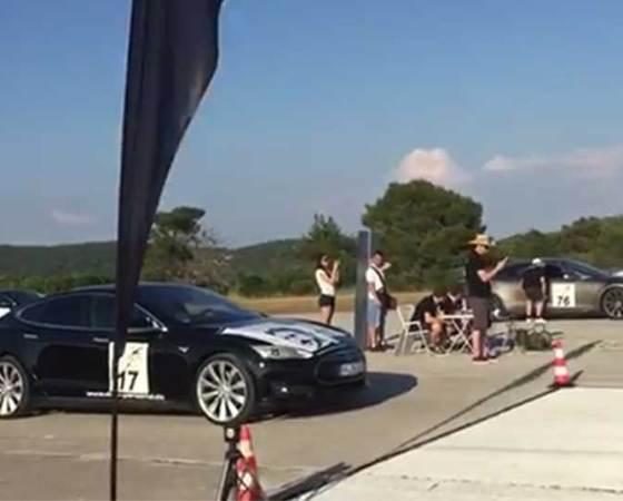 NT EV Rally 2017 Speed race Mali Lošinj