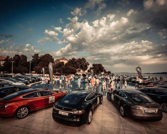 Nikola Tesla EV Rally Croatia 2018.