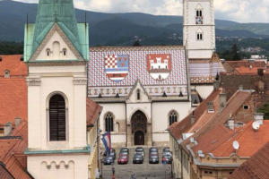 Zagreb,-trg-Sv.Marka