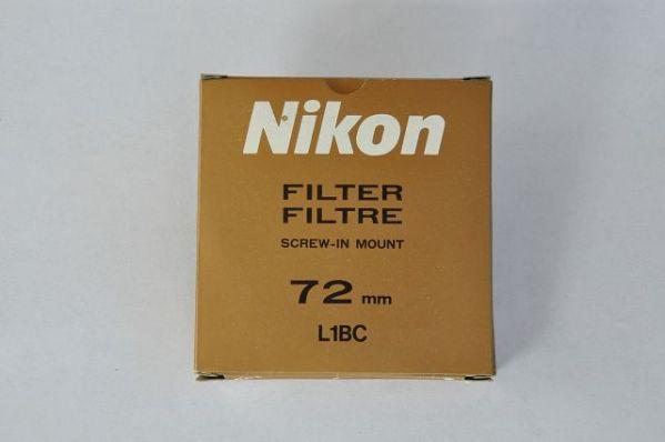 Nikon 72mm Filter L1BC