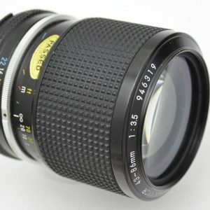 Nikon Nikkor Zoom 43-86mm 3.5 AI - Immerdrauf - Vollmetall-Zoom - neuwertig