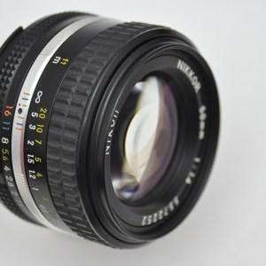 Nikon Nikkor 50mm 1.4 AIS Zustand A/A+ hervorragende Schärfeleistung
