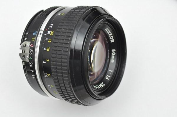 Nikkor 50mm 1.4 -AI-Umbau liefert schon bei offener Blende sehr scharfe und detailreiche Fotos