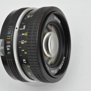 Nikon Nikkor 20 mm 4.0 Pre-AI - Blende 8 und 11 brillante Schärfeleistung