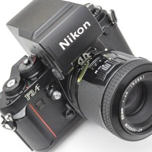Nikon - Kameraset F3AF mit 80mm 2.8 AF Objektiv - Zustand A/A+