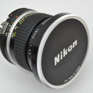 Nikon Nikkor 18mm 3.5 AIS - mit CRC Nahbereichskorrektur