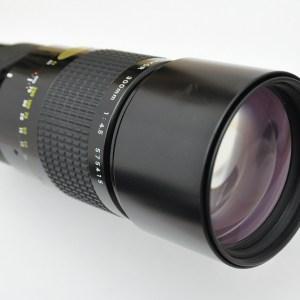 Nikon Nikkor 300mm 4.5 AIS - Hochleistungsteleobjektiv - sehr scharf - ohne Farbsäume - ohne Verzerrung.