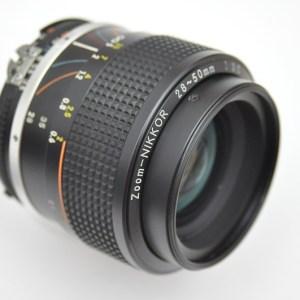 Nikon 28-50mm 3.5 AIS Objektiv - im Zustand A/A+ - sehr kompaktes lichstarkes Zoom - idealer Reisebegleiter