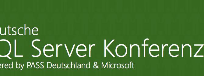 SQLKonferenz 2015