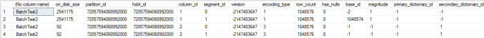 BatchTest Segments after adding new column