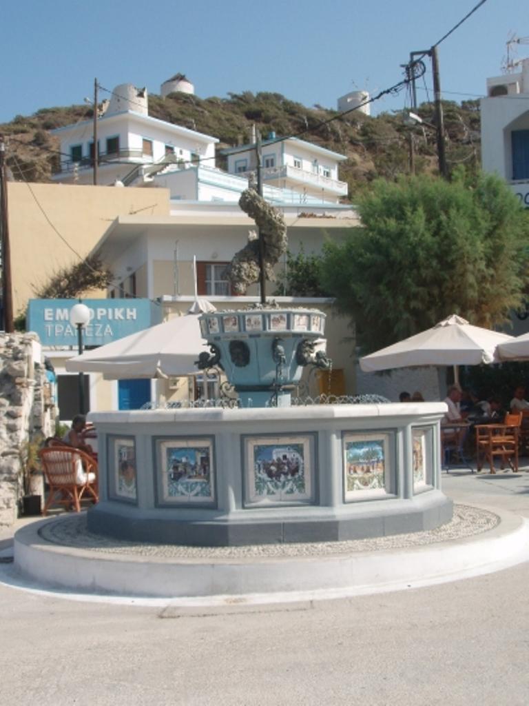 Fountain in Diafani