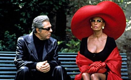 Marcello Mastroianni & Sophia-Loren