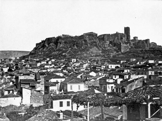 Πλάκα, Αθήνα, 19ος, αρχές 20ου αιώνα