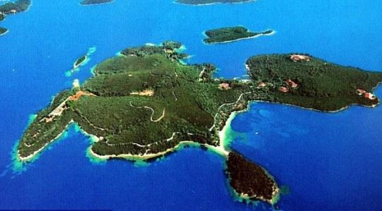 ONASSIS WEDDING, JACKIE O, SCORPIOS ISLAND, Αριστοτέλης Ωνάσης, Τζάκυ, γάμος, Σκορπιός, γάμος, nikosonline.gr