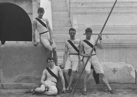 Princeton-University-team, Olympic-Games, olympic_stadium, panathinaiko_stadio, Πρώτοι Σύγχρονοι Ολυμπιακοί αγώνες, Αθήνα 1896