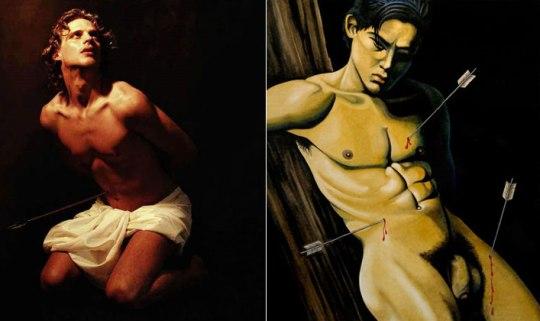 Saint SEBASTIAN, ΑΓΙΟΣ ΣΕΒΑΣΤΙΑΝΟΣ, ART, ΤΕΧΝΗ, ΠΙΝΑΚΕΣ ΖΩΓΡΑΦΙΚΗΣ, GAY ICON, ΤΟ BLOG ΤΟΥ ΝΙΚΟΥ ΜΟΥΡΑΤΙΔΗ, nikosonline.gr,