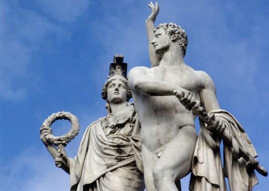 Ancient Greek mythology Form sculpture rock Germany Berlin Art statue monument Myths