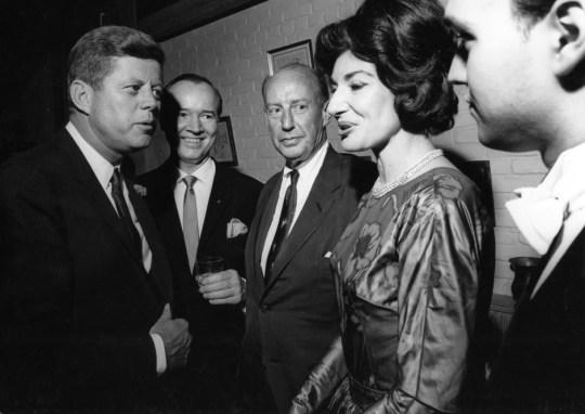 J.F.K, Maria Callas