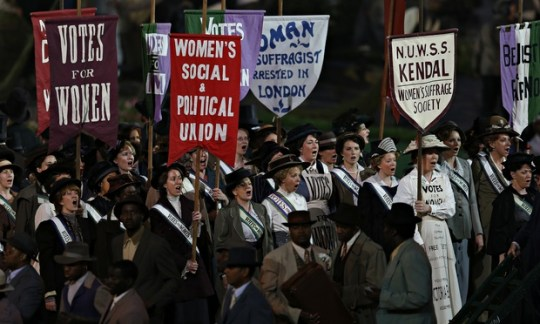 Olympic suffragettes