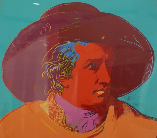 Andy Warhol, Johann Wolfgang von Goethe