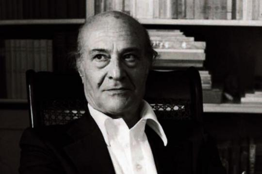 24th October 1979: The Greek poet Odysseus Elytis, Nobel prize winner for literature. (Photo by Keystone/Getty Images)
