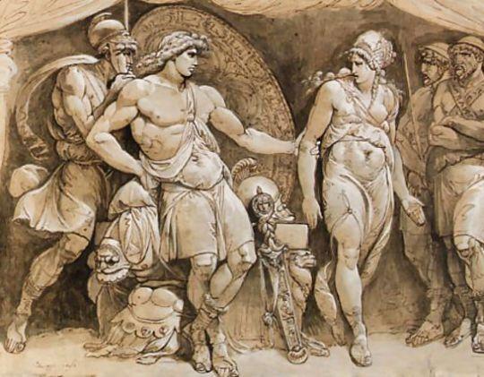 Briseis-Leaving-Achilles$27-Tent