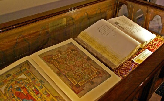 book kells display