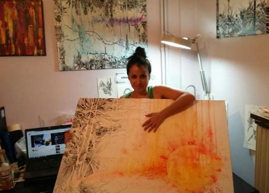 Στέλλα Ζαφείρη, ζωγράφος