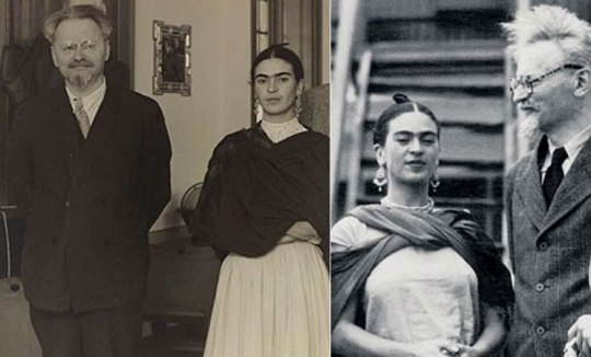Frida Kahlo, Leo Trotsky