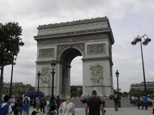 Αψίδα Θριάμβου, Παρίσι