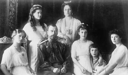 Τσάρος Νικόλαος, Ρομανώφ