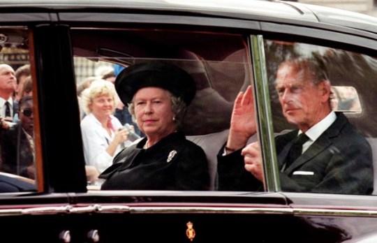 LONDON, UNITED KINGDOM: Queen Elizabeth II