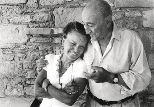 Πέγκυ Ζουμπουλάκη- Γιάννης Μόραλης 2003