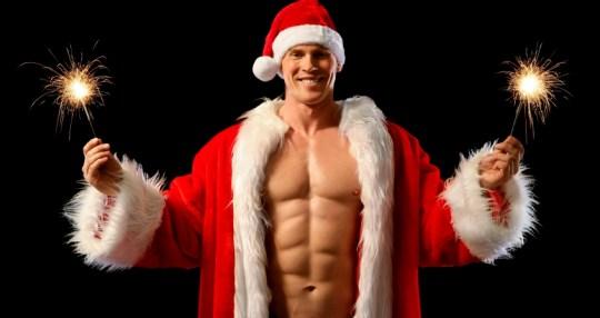 Santa Claus, gay, sexy,