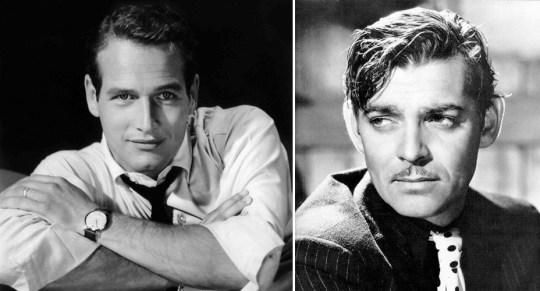 Ζώδιο Υδροχόος, Paul Newman, Clark Gable