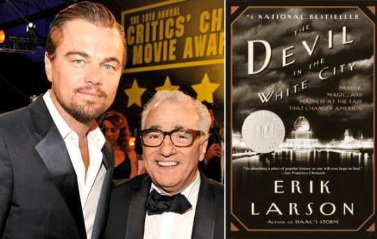 Leonardo DiCaprio, serial killer, Scorsese, Murder Castle, H. H. Holms, The Devil in the White City,