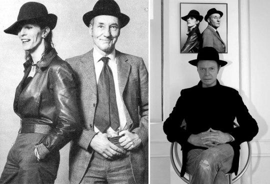 William Burroughs, Γουίλιαμ Μπάροουζ, συγγραφέας, Beat Generation, David Bowie