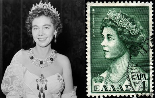 Φρειδερίκη, βασίλισσα της Ελλάδας.