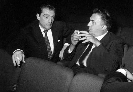 Luchino Visconti, Federico Fellini