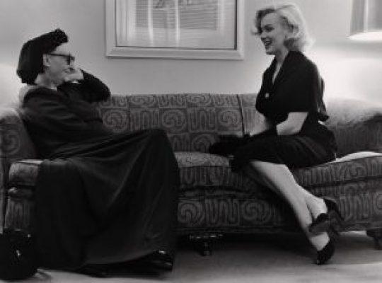 Dame Edith Sitwell, ποιήτρια, Marilyn Monroe