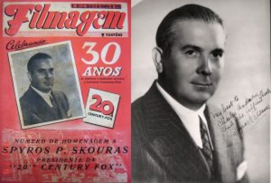 Σπύρος Σκούρας, Spyro Skouras, 20th century fox