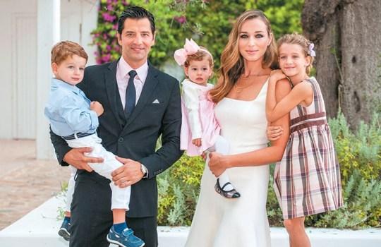 Σάκης Ρουβάς, Κάτια Ζυγούλη, γάμος, παιδιά,
