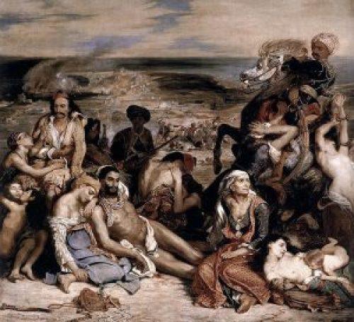 Eugène_Delacroix, Ευγένιος Ντελακρουά