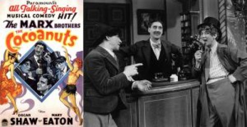 """The Cocoanuts"", Marx Brothers, αδελφοί Μαρξ,"