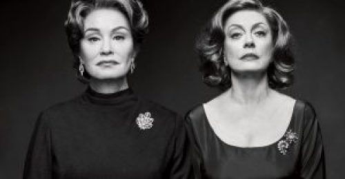 Bette and Joan: Μυθικές γυναίκες, Hollywood, Bette Davis, Joan Crawford, What Ever Happened to Baby Jane, Susan Sarandon, Jessica Lange, FEUD, ΦΙΟΥΝΤ, ΤΗΛΕΟΠΤΙΚΗ ΣΕΙΡΆ, TV SERIES, nikosonline.gr