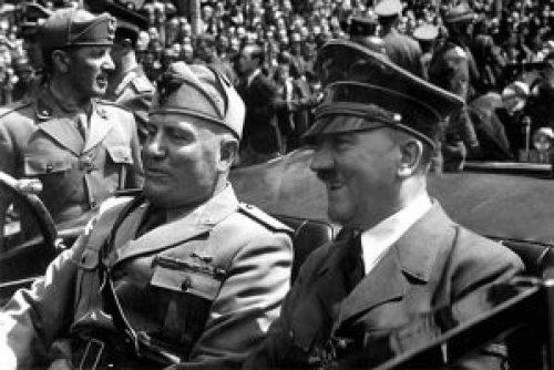 Αδόλφος Χίτλερ, Μπενίτο Μουσσολίνι, Hitler
